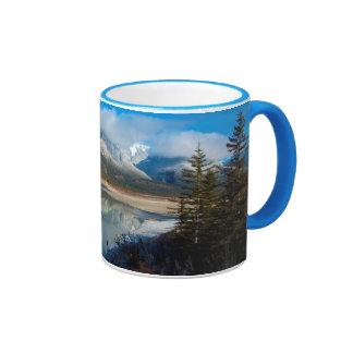 Athabasca River, Jasper National Park, Alberta Ringer Mug