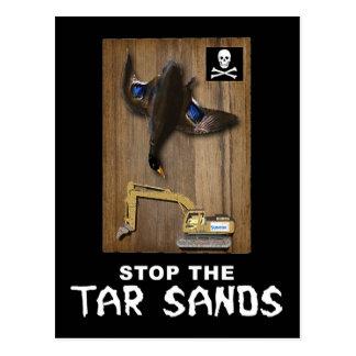 Athabasca Tar Sands Duck Mount Postcard