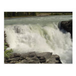 Athabasca Waterfalls in Alberta Postcards