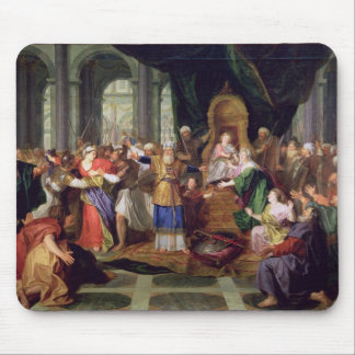 Athaliah Expelled from the Temple, c.1697 (oil on Mousepad