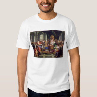 Athaliah Expelled from the Temple, c.1697 (oil on T Shirt