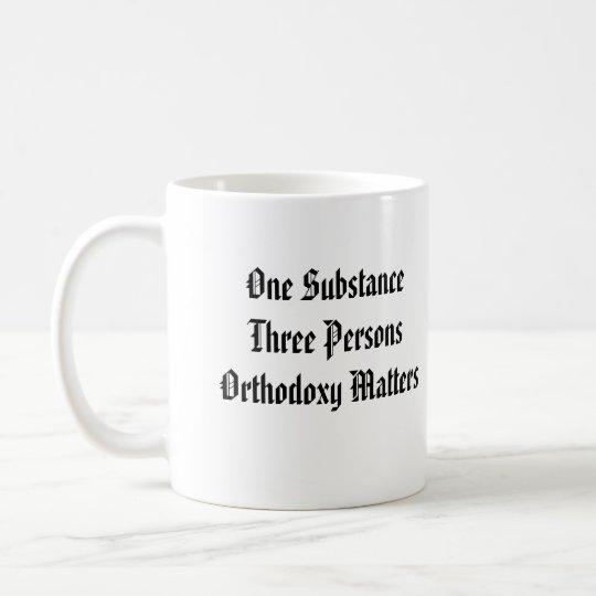 Athanasius Orthodoxy Matters Mug