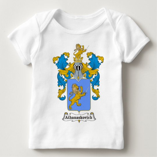 Athanaskovich Family Hungarian Coat of Arms Baby T-Shirt