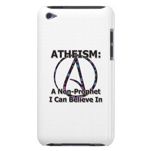 Atheism: A Non-Prophet I Can Believe In Barely There iPod Cases