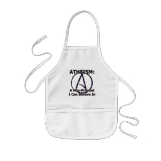 Atheism: A Non-Prophet I Can Believe In Kids' Apron
