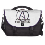 Atheism: A Non-Prophet I Can Believe In Laptop Commuter Bag