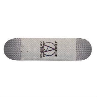 Atheism: A Non-Prophet I Can Believe In Skateboard Deck