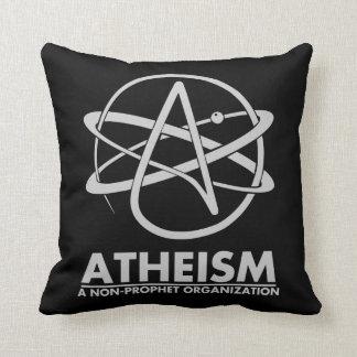 ATHEISM - A NON PROPHET ORGANISATION THROW PILLOW