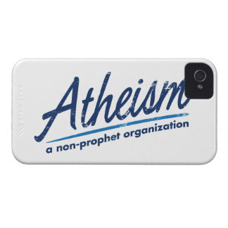 Atheism a non-prophet organization iPhone 4 cover