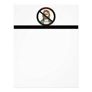 Atheism A Non Prophet Organization Letterhead Design