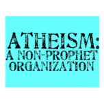 Atheism: A Non-Prophet Organization Post Card