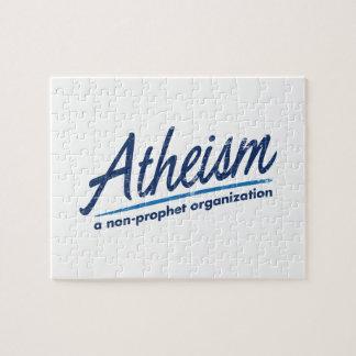 Atheism a non-prophet organization puzzles