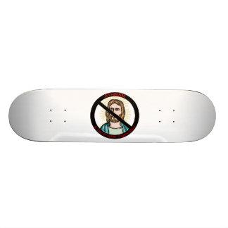 Atheism A Non Prophet Organization Skateboard