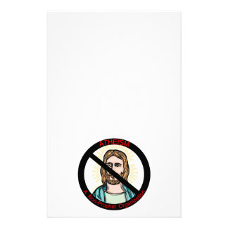 Atheism A Non Prophet Organization Customized Stationery