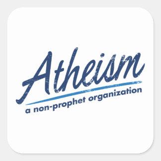 Atheism a non-prophet organization stickers