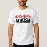 Atheism: A Non-Prophet Organization T-Shirt