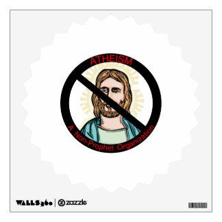 Atheism A Non Prophet Organization Wall Sticker