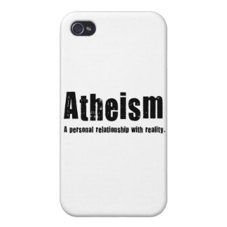 Atheism. A personal relationship with reality. iPhone 4/4S Cover