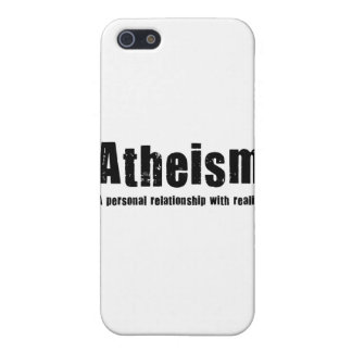 Atheism. A personal relationship with reality. iPhone 5 Cover
