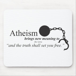 Atheism brings new meaning mouse pad