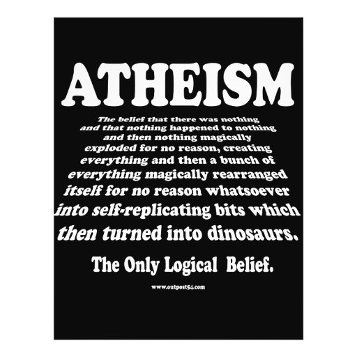 ATHEISM FLYER