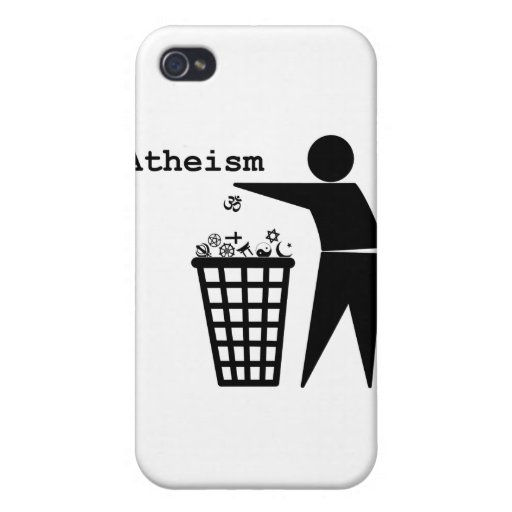 Atheism iPhone 4 Cover