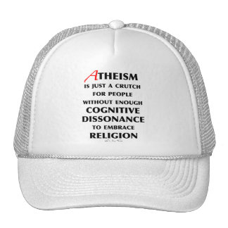 Atheism Is A Crutch Trucker Hat