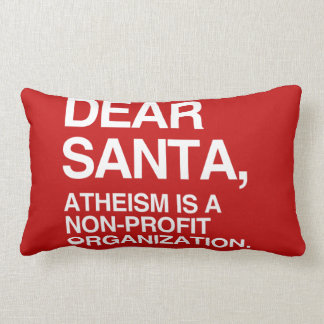 ATHEISM IS A NON-PROFIT ORGANIZATION -.png Throw Pillows