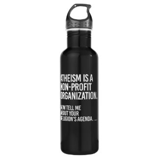 Atheism is a Non-Profit Organization - - Pro-Scien Stainless Steel Water Bottle