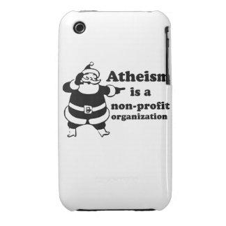 Atheism is a nonprofit organization iPhone 3 case