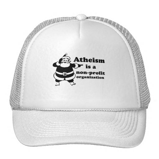 Atheism is a nonprofit organization hats