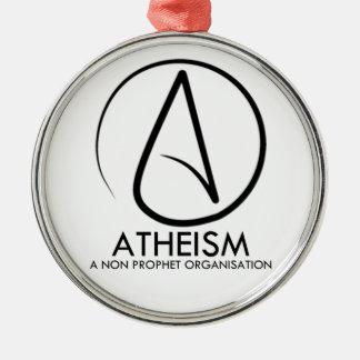 Atheism Metal Ornament