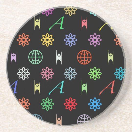 Atheism Monogram Coaster