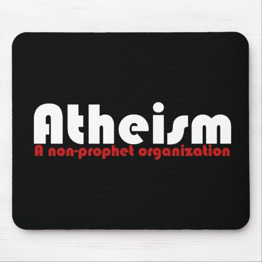 Atheism Mouse Pad