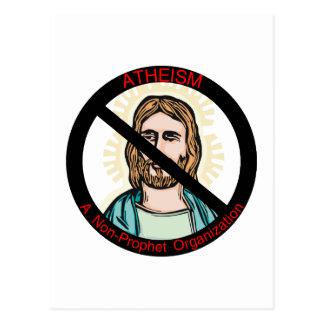Atheism Non Prophet Postcard