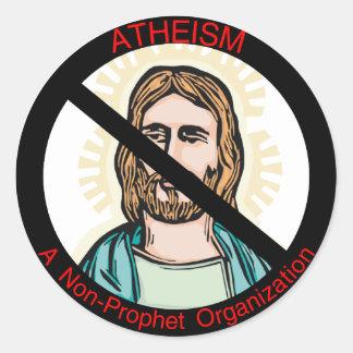 Atheism Non Prophet Sticker