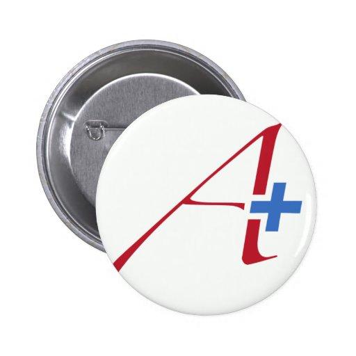 Atheism Plus Pinback Button