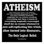 ATHEISM POSTER