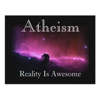 Atheism, Reality is awesome Postcards
