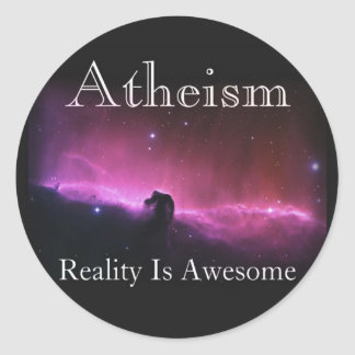 Atheism, Reality is awesome Stickers