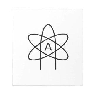 Atheism Symbol #3 Notepad