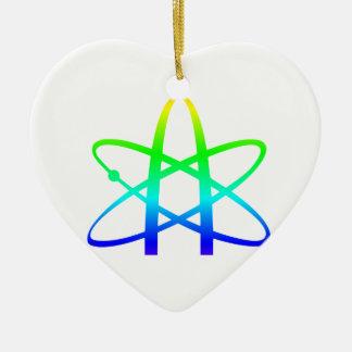 Atheism Symbol Ceramic Ornament