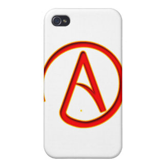 Atheism Symbol Cover For iPhone 4