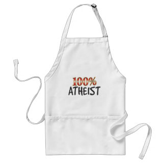 Atheist 100 Percent Apron