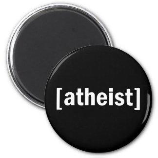 [atheist] 2 inch round magnet