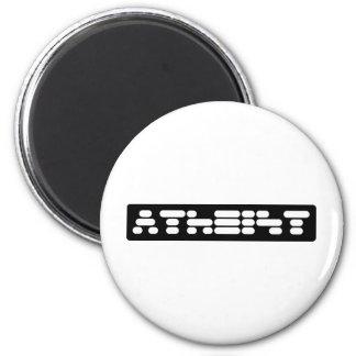 Atheist 2 Inch Round Magnet