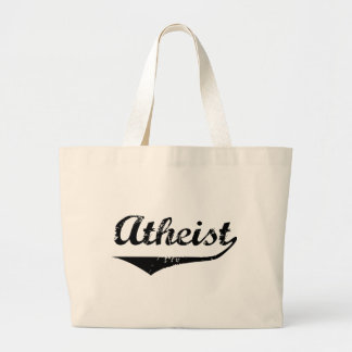 Atheist 2 large tote bag