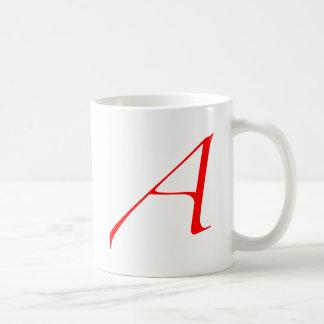 "Atheist ""A""  logo Classic White Coffee Mug"