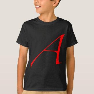 "Atheist ""A""  logo T-Shirt"