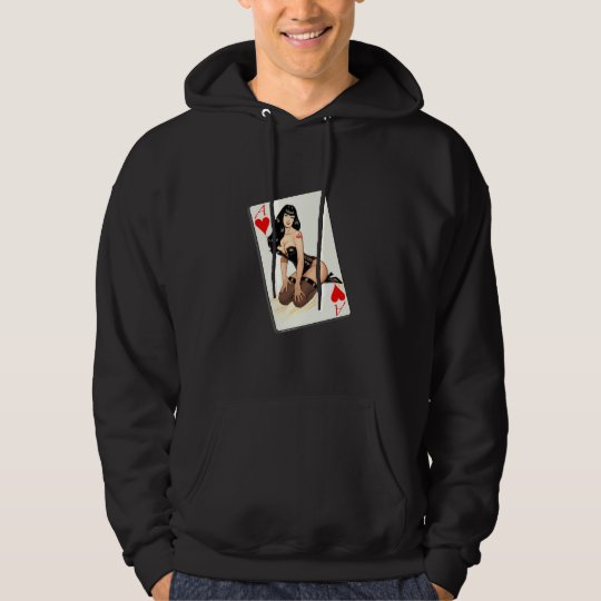 Atheist Ace of Hearts Hoodie